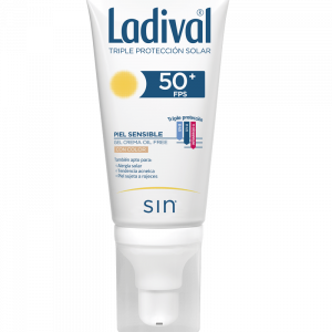 LADIVAL PIEL SENSIBLE OIL FREE CON COLOR 50 ML